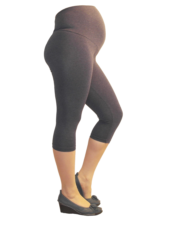 umstand hose capri 3 4 umstandsleggings kurze leggings aus baumwolle ebay. Black Bedroom Furniture Sets. Home Design Ideas